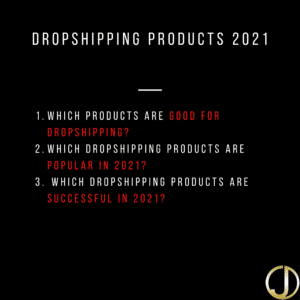 Read more about the article Dropshipping products 2021